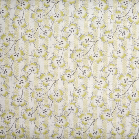 Japanese Quilting Print - Green Clover