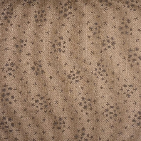 Japanese Quilting Print - Brown Cluster