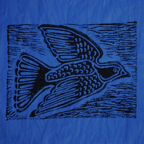 South African Panel - Dove in Blue