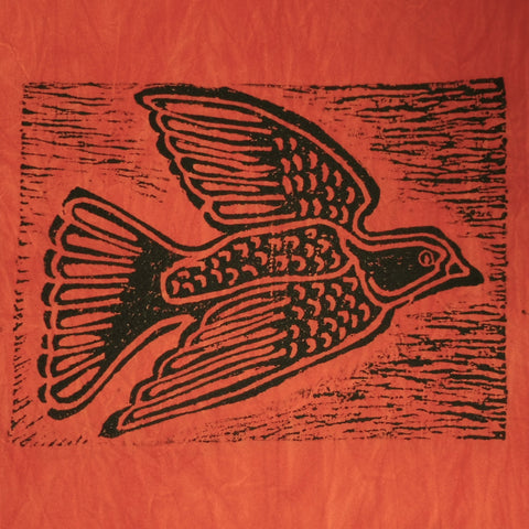 South African Panel - Dove in Orange