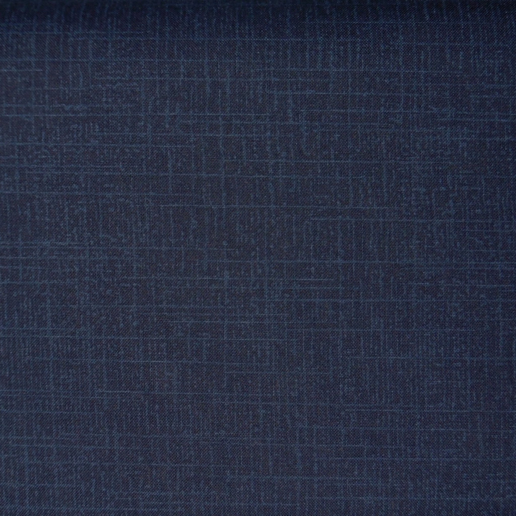 Japanese Quilting Print - Navy Blue Etch
