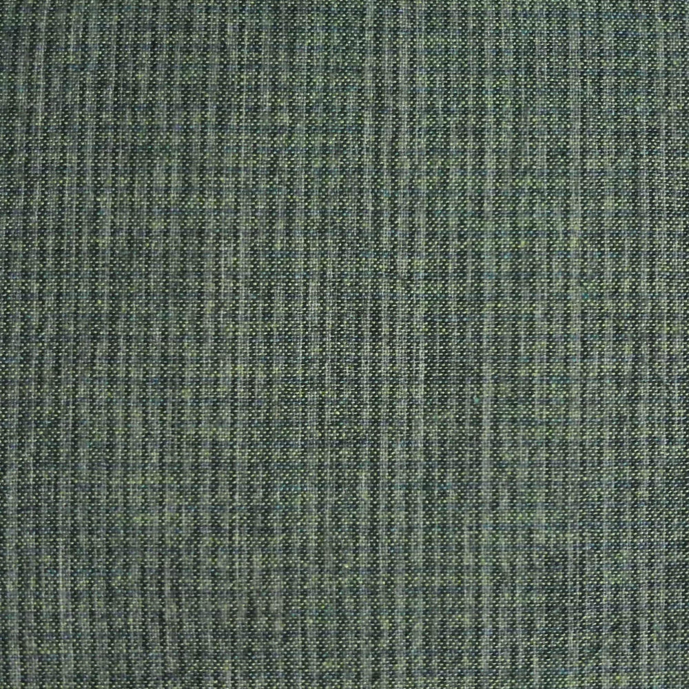 Japanese Yarn Dye - Bluish Green Subtle Tiny Grid