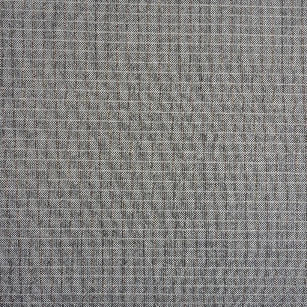 Japanese Yarn Dye - Grey Small Grid