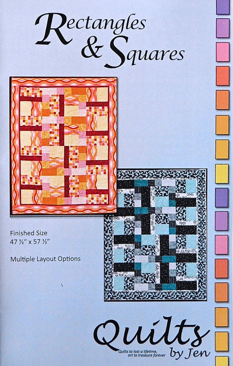 Rectangles and Squares by Jennifer Houlden