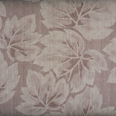 Japanese Quilting Print - Light Brown Large Leaf