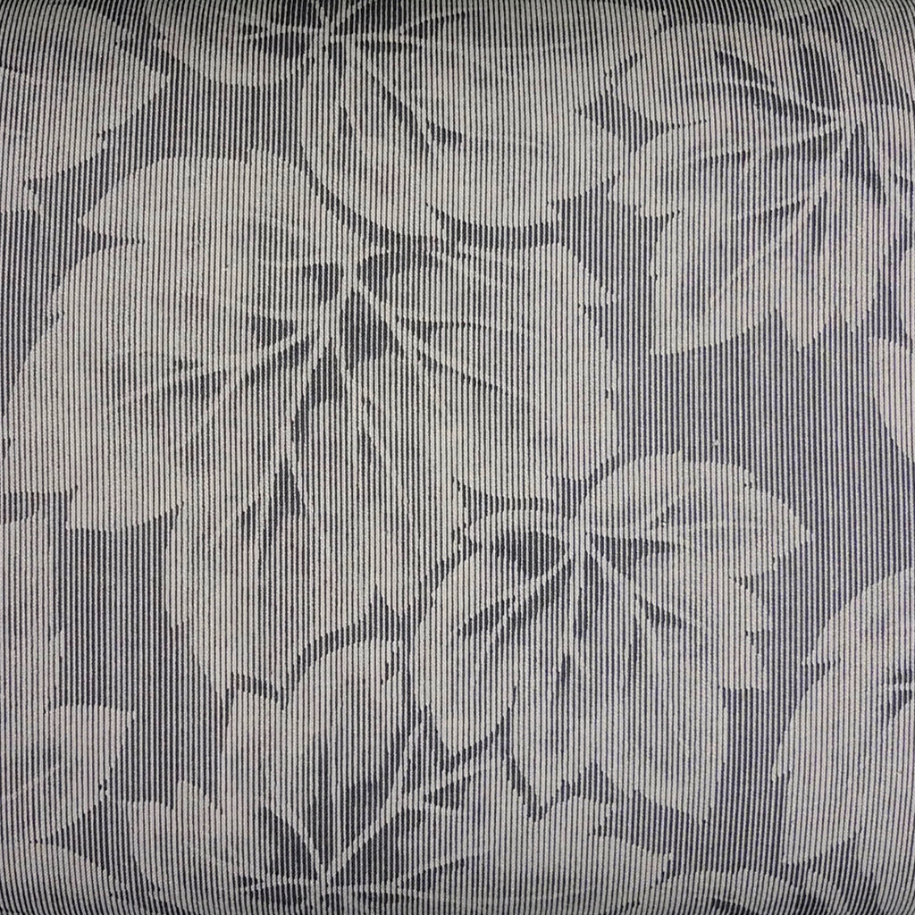 Japanese Quilting Print - Grey Large Leaf