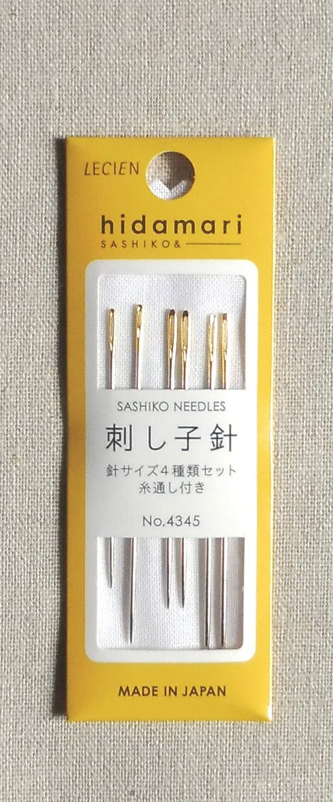 Sashiko Needles - 6 Pack of Various Sizes