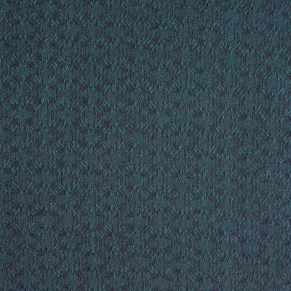 Japanese Yarn Dye - Teal Oval Weave