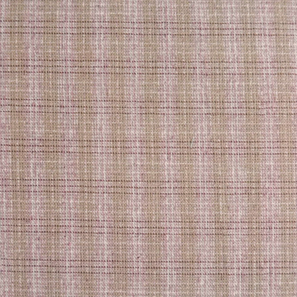 Japanese Yarn Dye - Light Pink Plaid Shirt