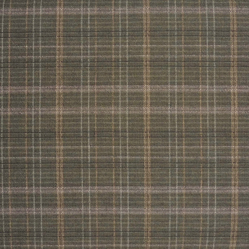 Japanese Yarn Dye - Green Medium Plaid