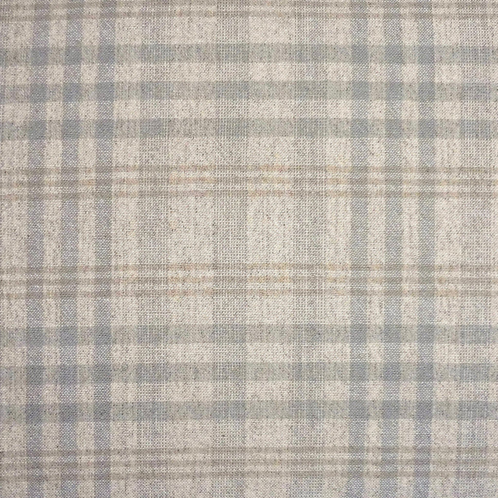 Japanese Yarn Dye - Beige Large Uneven Plaid Shirt