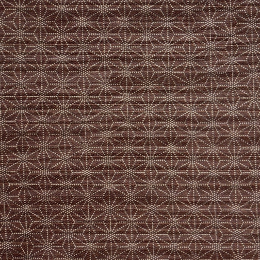 Japanese Dobby Cloth - Brown Reversible Hemp Leaf