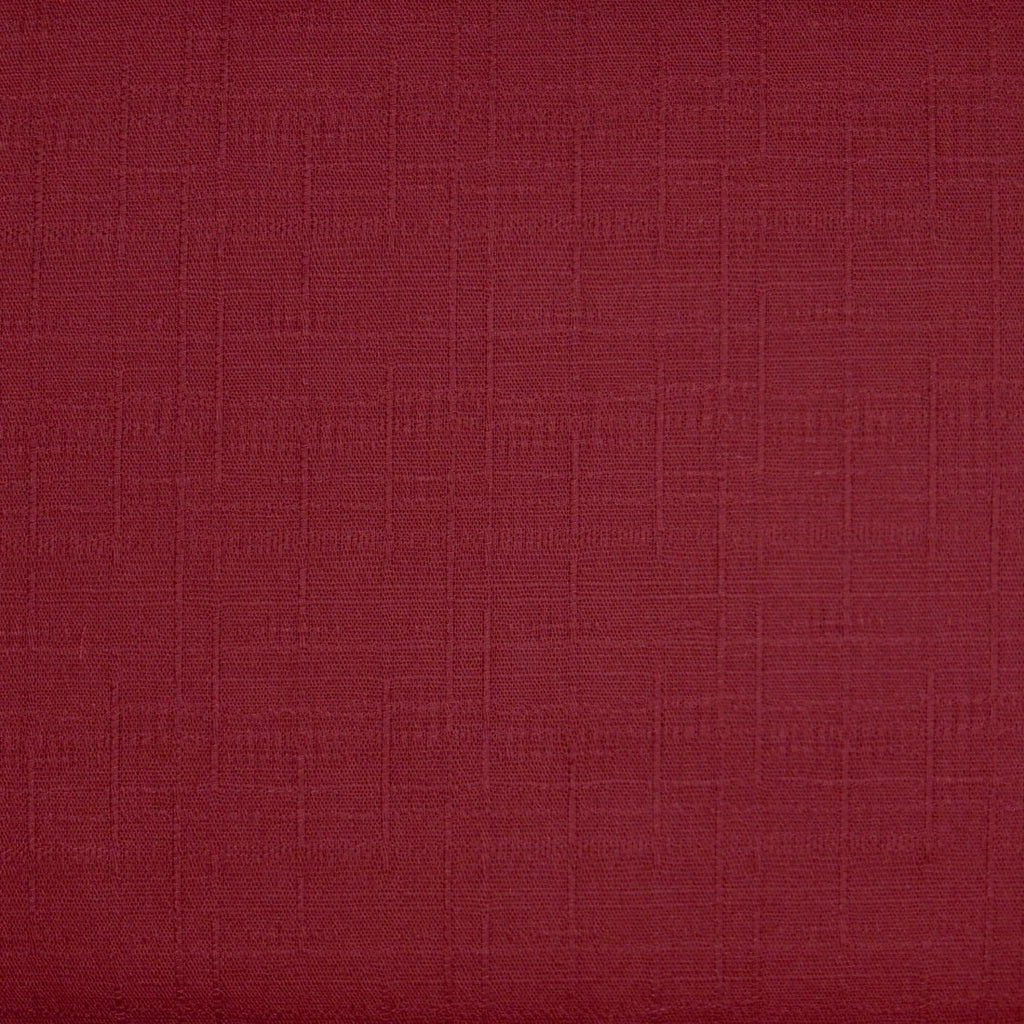 Japanese Dobby Cloth - Burgundy Solid