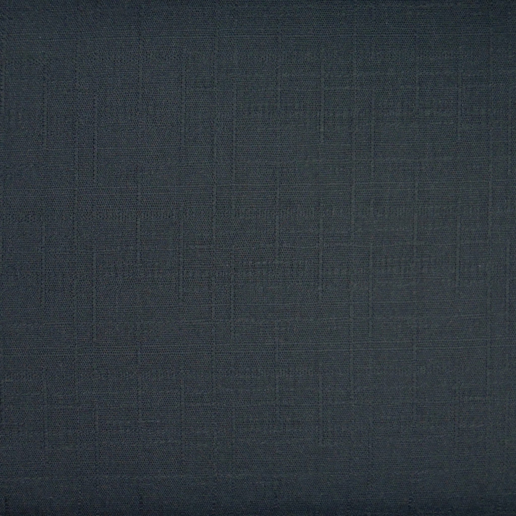 Japanese Dobby Cloth - Dark Blue Solid