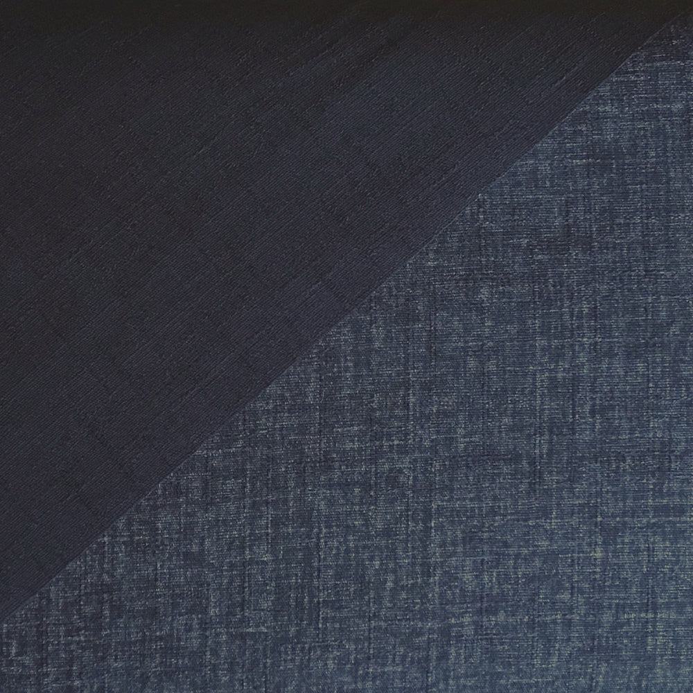 Japanese Dobby Cloth - Bright Navy Reversible Solid