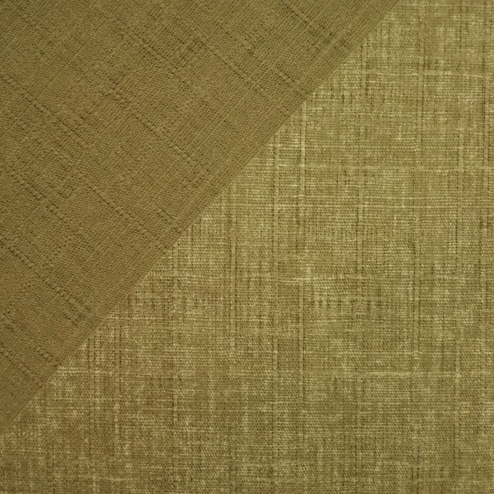 Japanese Dobby Cloth - Muted Olive Green Reversible Solid