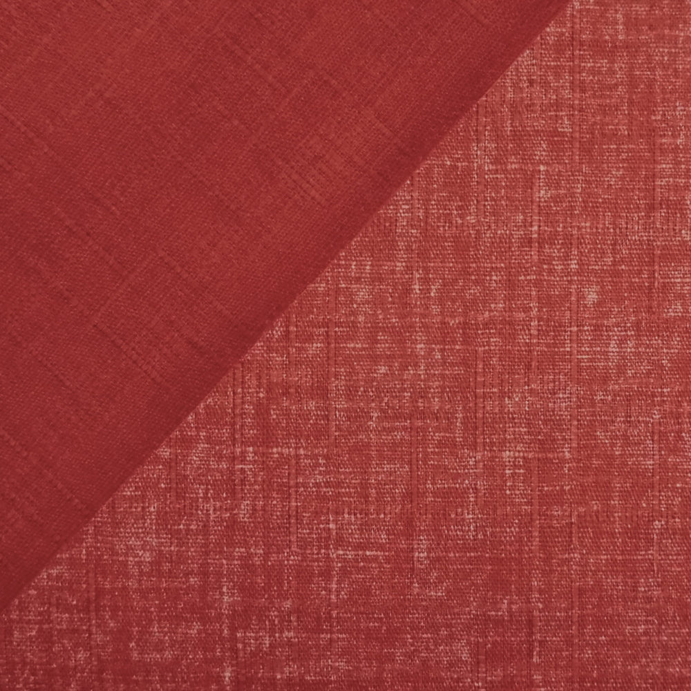 Japanese Dobby Cloth - Pale Red Reversible Solid