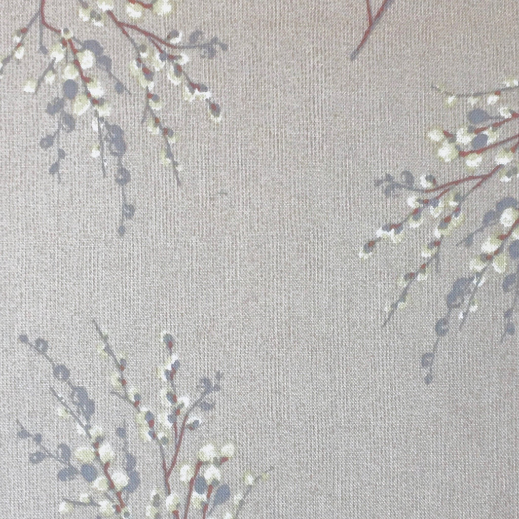 Japanese Quilting Print - Light Grey Sprig