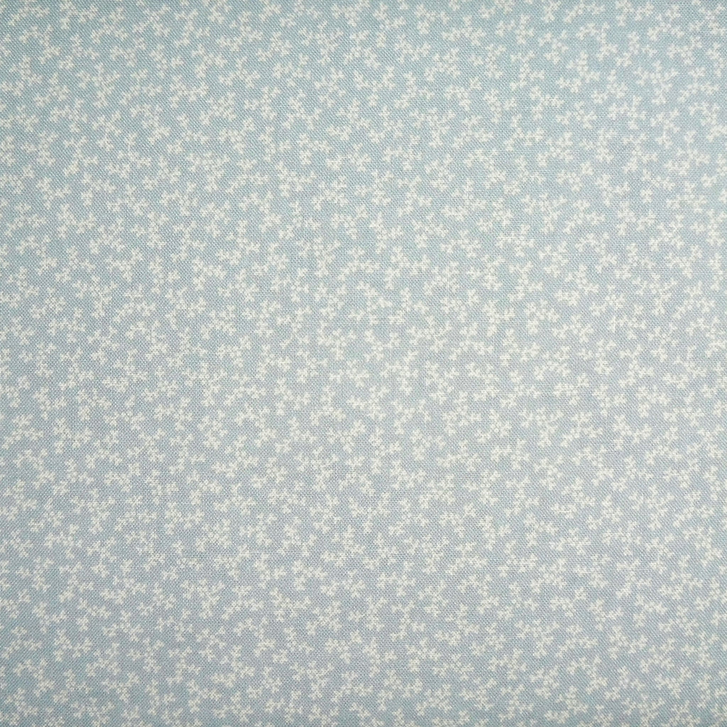 Japanese Quilting Print - Tiny Blue Sprig
