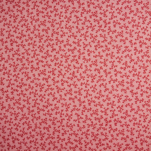 Japanese Quilting Print - Tiny Pink Sprig