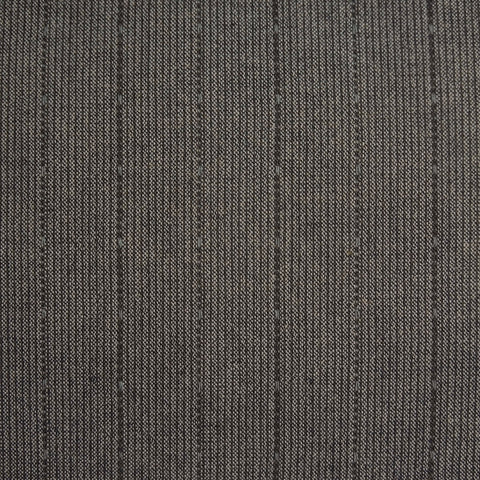 Japanese Yarn Dye - Charcoal Dashed Bars