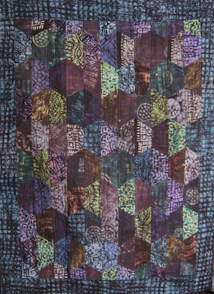 Sold Quilt - Hexcentric