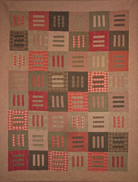 Sold Quilt - Modern Thinking