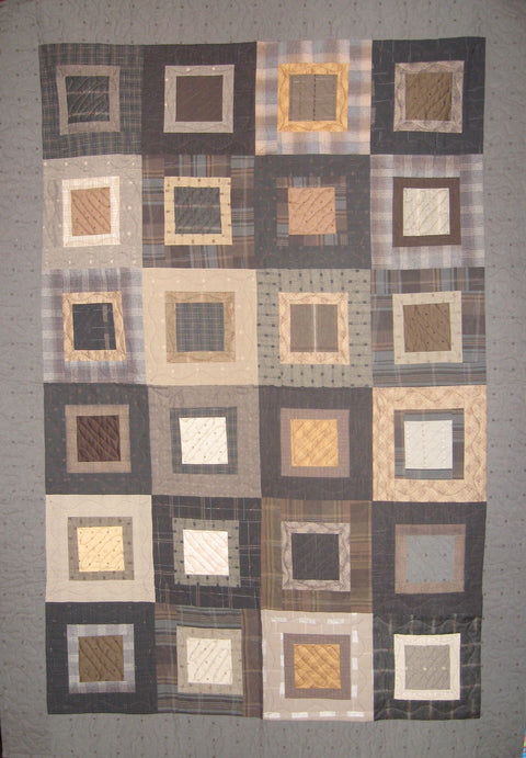 Sold Quilt - Square Pegs