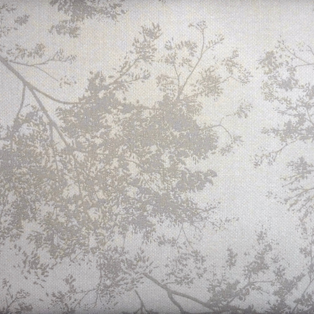 Japanese Quilting Print - Taupe Treetop