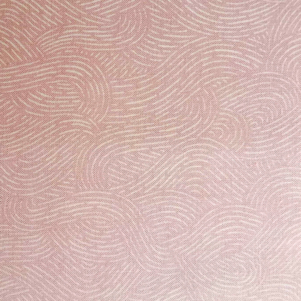 Japanese Quilting Print - Pink Water