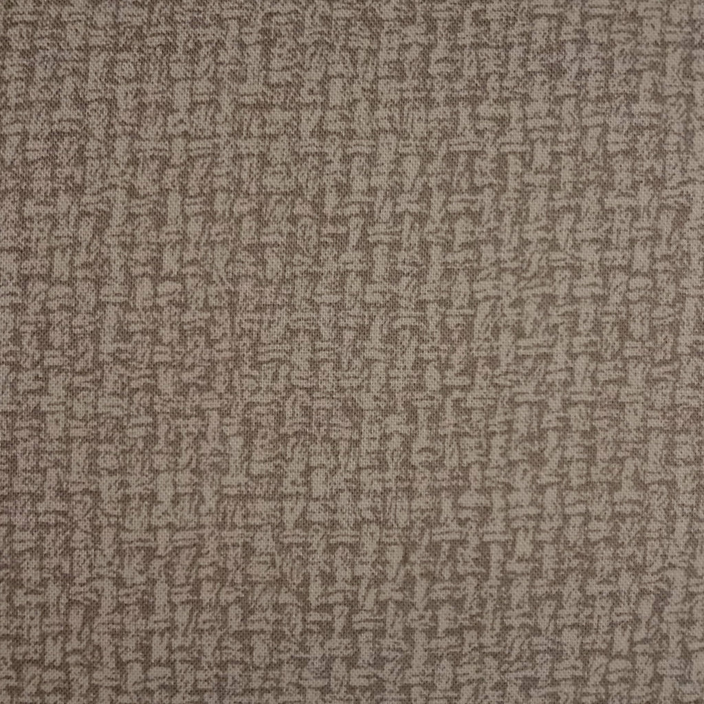 Japanese Quilting Print - Cool Medium Brown Basket Weave