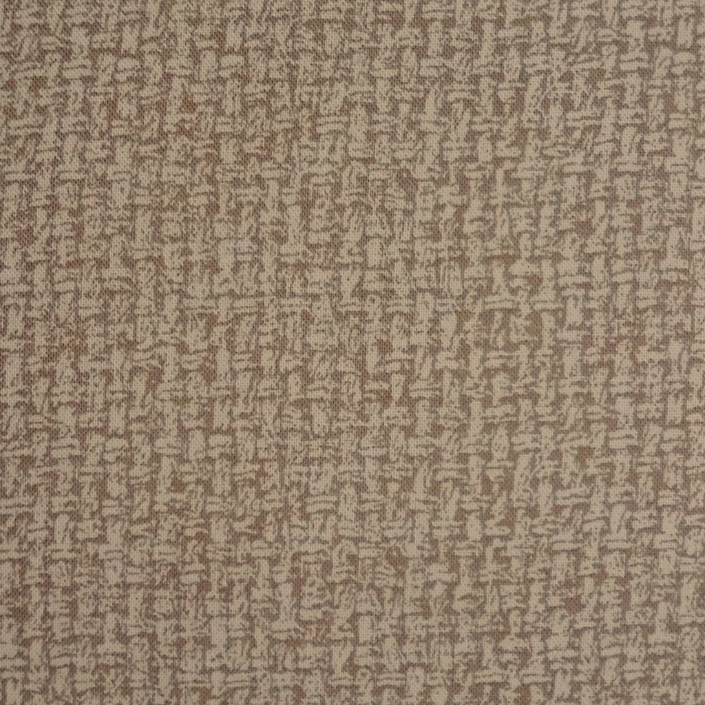 Japanese Quilting Print - Warm Medium Brown Basket Weave