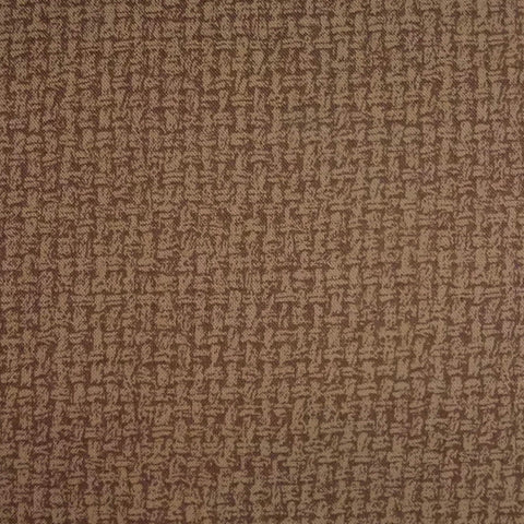 Japanese Quilting Print - Warm Dark Brown Basket Weave