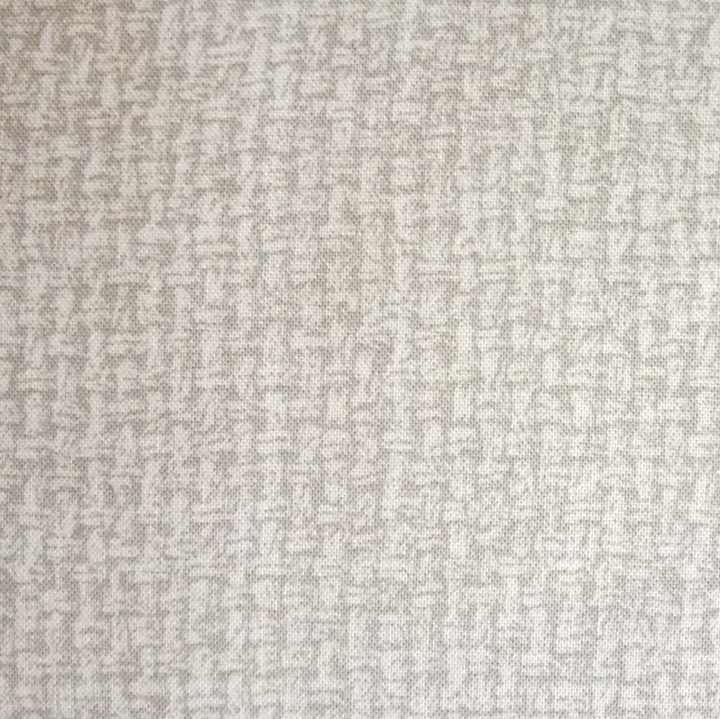 Japanese Quilting Print - Light Taupe Basket Weave