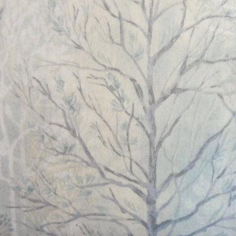 Japanese Quilting Print - Winter Trees