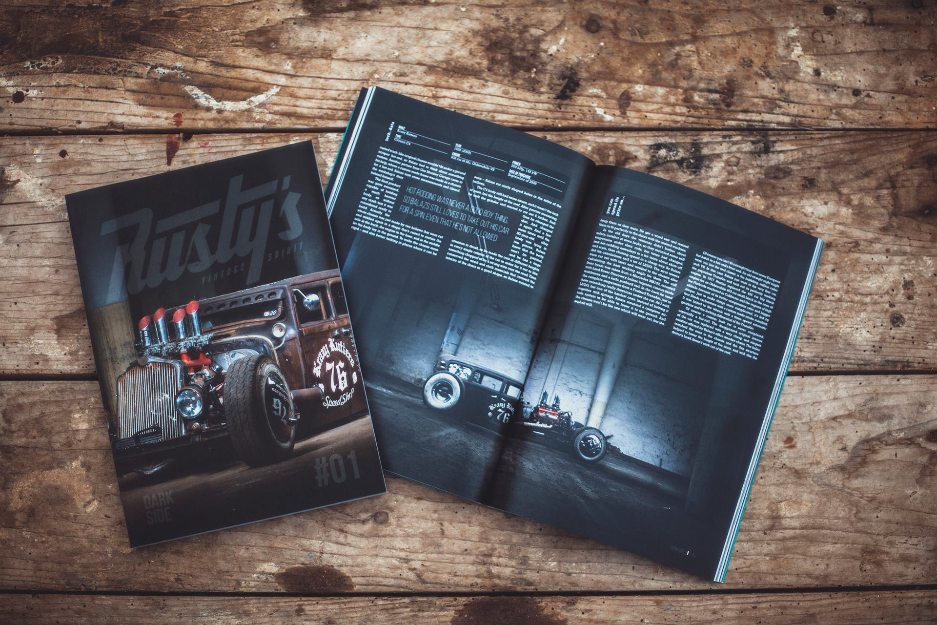 Rusty's - Vintage Spirit Issue 1