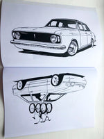 RR Colouring Book - Ford Edition