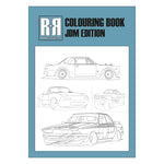 RR Colouring Book - JDM Edition