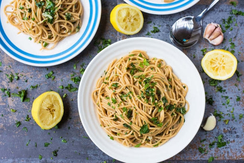 Garlic and Herb Spaghetti