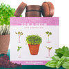 Microgreens Kit - Grow 4 Types Of Micro Greens From Seed