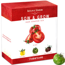 Tomato Kit - 4 Types of Delicious Tomatoes to Grow From Seed