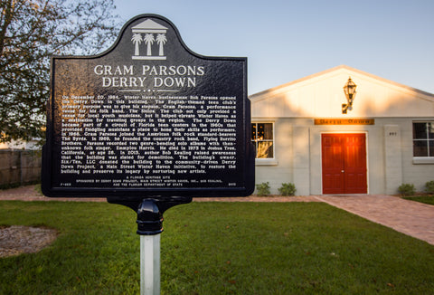 STATE OF FLORIDA HISTORICAL RESOURCES RECOGNIZE GRAM PARSONS DERRY DOWN AS A HISTORIC SITE