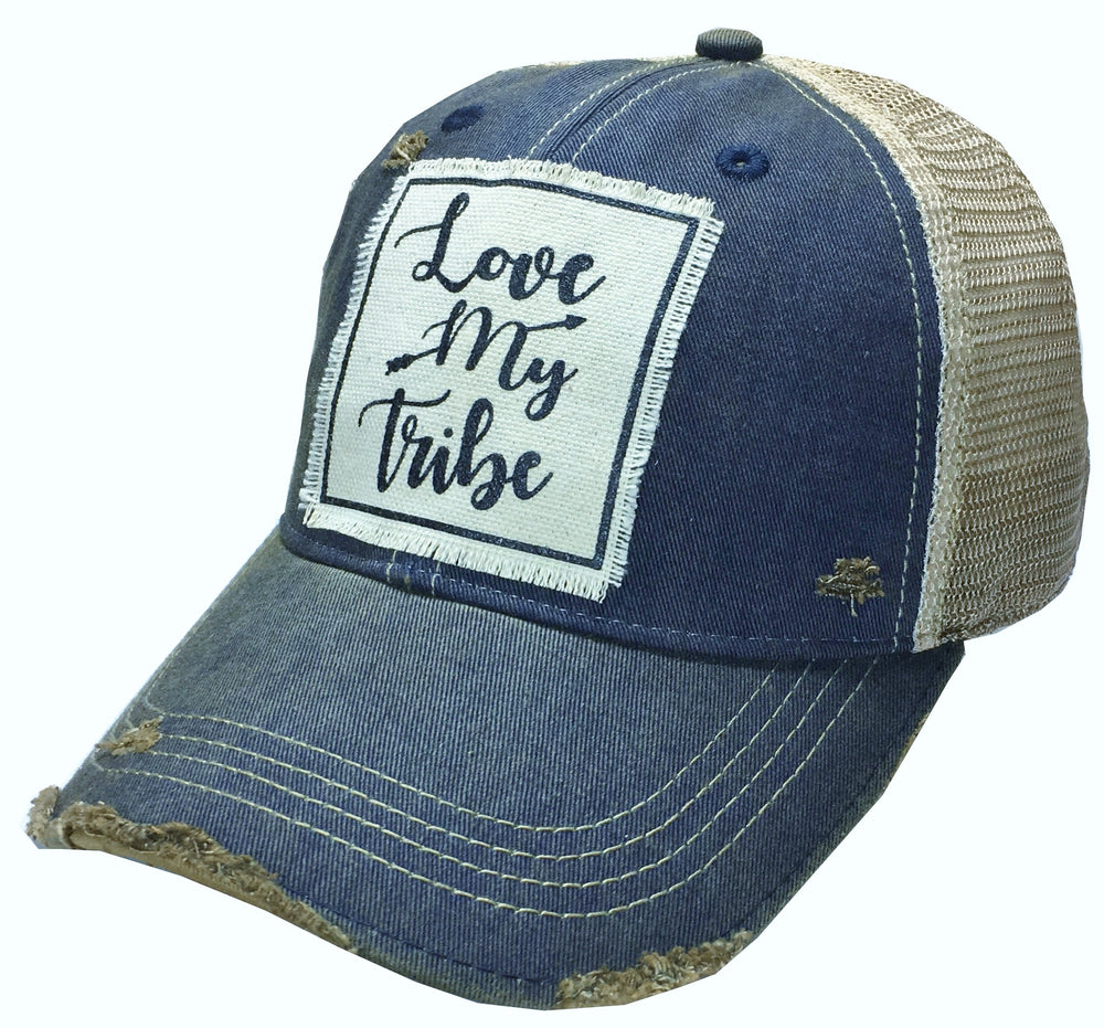 Distressed Vintage Trucker Hats