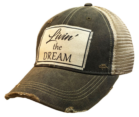 """Livin' the Dream""  Women's Trucker Baseball Cap"