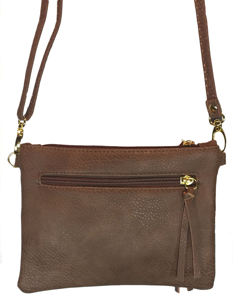Crossbody Messenger Bag Khaki