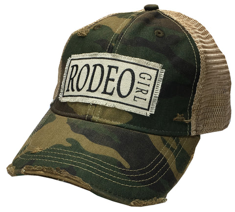 """Rodeo Girl""  Women's Trucker Baseball Cap"