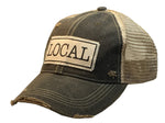 """LOCAL"" Distressed Trucker Cap"