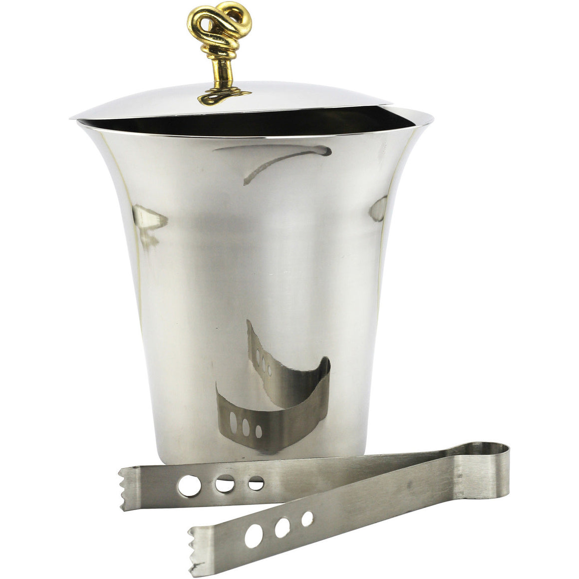 DOUBLE KNOT ICE BUCKET, Ice Bucket, Fennel and Fork