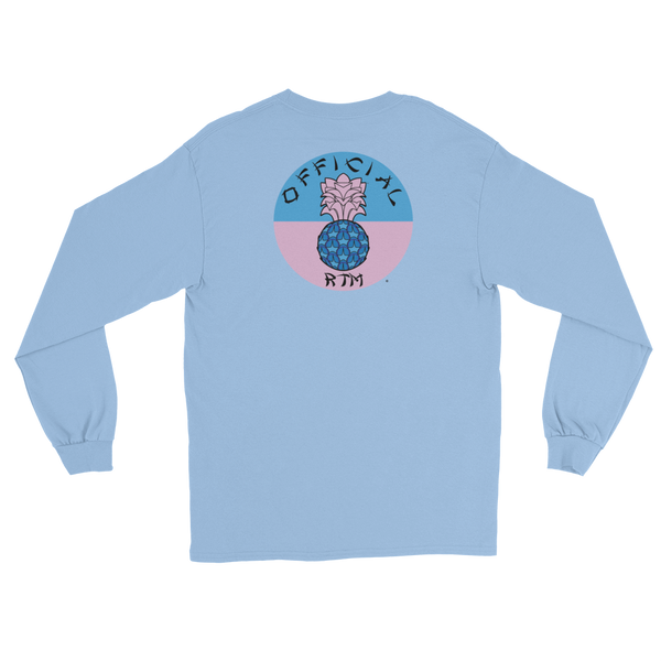 LONG SLEEVE OFF. RTM LOGO T-SHIRT
