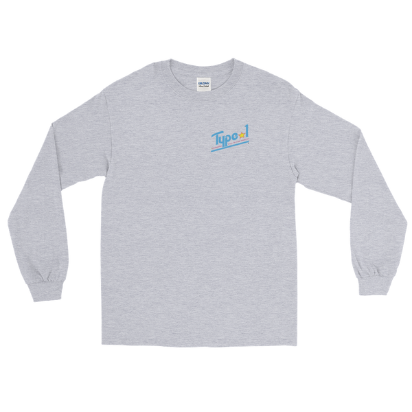 TYPE 1 DIABETES LONG SLEEVE T-SHIRT